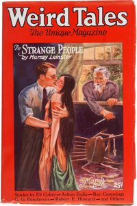 Weird Tales - March 1928 Margaret Brundage File Copy (Popular Fiction) Condition: VF/NM