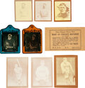 Baseball Cards:Lots, 1930-1940 Ray-O-Print, & Sun Pictures Negatives, Prints & Envelope (18 Items)....