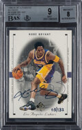 Basketball Cards:Singles (1980-Now), 1999 SP Authentic Buy Back Kobe Bryant #44 BGS Mint 9, Auto 8 - #'d 3/132....