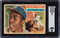 Baseball Cards:Singles (1950-1959), 1956 Topps Hank Aaron (White Back) #31 SGC Mint 9 - Pop One, One Higher....