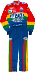 Miscellaneous Collectibles:General, 1997 Jeff Gordon Race Worn Winston Cup Series Fire Suit - Series Championship!...