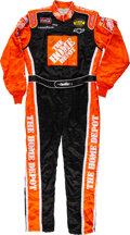 Miscellaneous Collectibles:General, 2005 Tony Stewart Race Worn & Signed Nextel Cup Series Fire Suit - Championship Victory!...