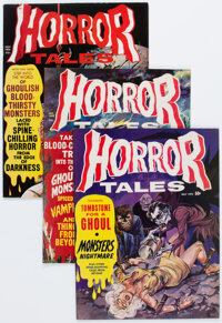 Horror Tales Group of 24 (Eerie Publications, 1970-79) Condition: Average VF.... (Total: 24 Comic Books)