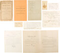 Political:Small Paper (pre-1896), [James A. Garfield]: Charles Guiteau Archive....