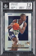 Basketball Cards:Singles (1980-Now), 1996 Skybox E-X2000 Credentials Ray Allen #37 BGS NM+ 7.5 - Serial Numbered 333/499. ...