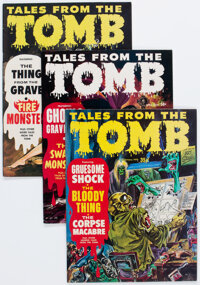 Tales From the Tomb Group of 22 (Eerie Publications, 1969-75) Condition: Average VF.... (Total: 22 Comic Books)