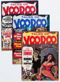 Tales of Voodoo Group of 16 (Eerie Publications, 1970-74) Condition: Average VF+.... (Total: 16 Comic Books)