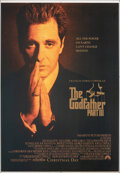 """Movie Posters:Crime, The Godfather Part III (Paramount, 1990). Rolled, Very Fine. Bus Shelter (48"""" X 70"""") DS Advance. Crime.. ..."""