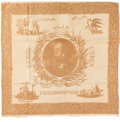 Political:Textile Display (pre-1896), Henry Clay: An Outstanding 1844 Campaign Cloth Bandana....