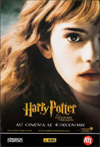 """Harry Potter and the Chamber of Secrets (Warner Bros., 2002). Rolled, Very Fine-. French Grande (46.25"""" X 68.25&quo..."""