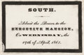 Political:Small Paper (pre-1896), Abraham Lincoln: Rare Executive Mansion Funeral Pass....