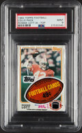 Football Cards:Singles (1970-Now), 1982 Topps Football Cello Pack PSA Mint 9 - Ronnie Lott Showing. ...