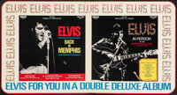 From Memphis to Vegas / From Vegas to Memphis by Elvis Presley (RCA Records, 1969). Folded, Very Fine-. Record Store Dis...