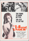 """Movie Posters:Adult, 14 and Under & Other Lot (Atlas, 1973). Flat Folded, Overall: Very Fine+. One Sheets (2) (27"""" X 41""""). Adult.. ... (Total: 2 Items)"""
