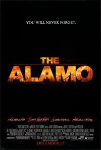 "The Alamo (Buena Vista, 2004). Rolled, Very Fine+. One Sheets (2) (27"" X 41"") DS Advance, 2 Styles. Western..."