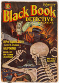 Pulps:Detective, Black Book Detective - February 1935 (Better Publications) Condition: VG+....