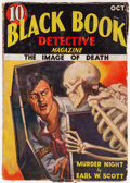 Pulps:Detective, Black Book Detective - October 1933 (Better Publications) Condition: VG....
