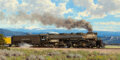 Paintings, Tucker Smith (American, b. 1940). Union Pacific Railroad, 1992. Oil on canvas. 24 x 48 inches (61.0 x 121.9 cm). Signed ...