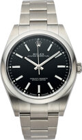 Timepieces:Wristwatch, Rolex, Oyster Perpetual 39 mm, Stainless Steel Ref. 114300, circa 2017. ...