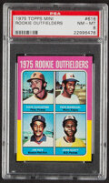 Baseball Cards:Singles (1970-Now), 1975 Topps Mini Jim Rice - Rookie Outfielders #616 PSA NM-MT 8....