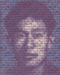 Paintings, Zhang Dali (b. 1963). Slogan 78, 2010. Acrylic on canvas. 58-1/2 x 47 inches (148.6 x 119.4 cm). Signed, dated, and titl...