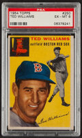 Baseball Cards:Singles (1950-1959), 1954 Topps Ted Williams #250 PSA EX-MT 6....