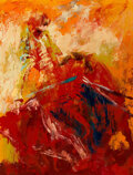 Paintings, LeRoy Neiman (American, 1921-2012). The Kill--Moment of Truth, Matador Chamaco, 1960. Oil on canvas