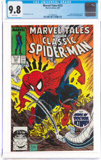 Marvel Tales #223 Spider-Man (Marvel, 1989) CGC NM/MT 9.8 White pages