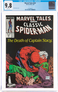 Marvel Tales #225 (Marvel, 1989) CGC NM/MT 9.8 White pages