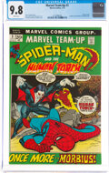 Bronze Age (1970-1979):Superhero, Marvel Team-Up #3 Spider-Man and The Human Torch (Marvel, 1972) CGC NM/MT 9.8 White pages....