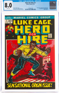 Hero for Hire #1 (Marvel, 1972) CGC VF 8.0 White pages