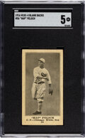 Baseball Cards:Singles (Pre-1930), 1916 M101-4 Blank Back Hap Felsch #56 SGC EX 5 - Only Two SGC-Graded Examples. ...
