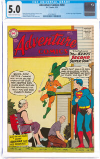 Adventure Comics #260 (DC, 1959) CGC VG/FN 5.0 Cream to off-white pages