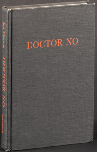 "Doctor No by Ian Fleming (MacMillan, 1958). Very Fine-. First U.S. Printing Hardcover Book (256 Pages, 5.75"" X 8.5&..."