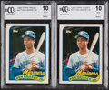 Baseball Cards:Lots, 1989 Topps Traded Ken Griffey Jr. #41T BCCG 10 Mint or Bet...