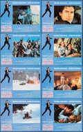 "Movie Posters:James Bond, The Living Daylights (United Artists, 1987). Overall: Very Fine+. International Lobby Card Set of 8 (11"" X 14"") & Italian Lo... (Total: 20 Items)"