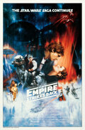 """The Empire Strikes Back (20th Century Fox, 1980). Rolled, Very Fine+. Withdrawn Original Concept One Sheet (27"""" X 4..."""