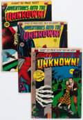 Silver Age (1956-1969):Horror, Adventures Into The Unknown Group of 4 (ACG, 1950-52).... (Total: 4 Comic Books)