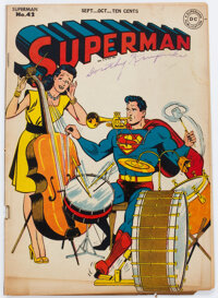 Superman #42 (DC, 1946) Condition: VG/FN
