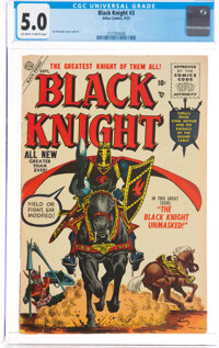 Black Knight #3 (Atlas, 1955) CGC VG/FN 5.0 Off-white to white pages