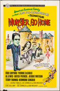"""Movie Posters:Comedy, Munster, Go Home (Universal, 1966). Folded, Fine+. One Sheet (27"""" X 41""""). Comedy.. ..."""