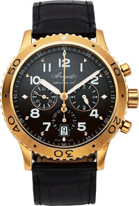 Breguet, Type XXI Transatlantique, Reference 3810 Pink Gold Flyback Chronograph With Date, circa 2011