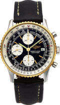 Timepieces:Wristwatch, Breitling, Ref. B13019 Steel And Yellow Gold Navitimer, circa 1990's. ...