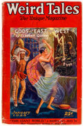 Pulps:Horror, Weird Tales - January 1928 (Popular Fiction) Condition: VG....