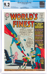 World's Finest Comics #142 (DC, 1964) CGC NM- 9.2 Off-white to white pages