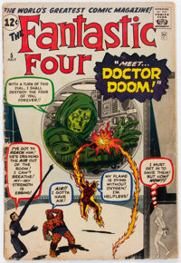 Fantastic Four #5 (Marvel, 1962) Condition: Qualified GD-