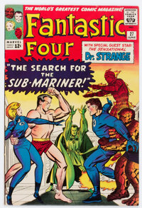 Fantastic Four #27 (Marvel, 1964) Condition: FN/VF