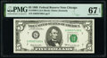 Small Size:Federal Reserve Notes, Fr. 1969-G $5 1969 Federal Reserve Note. PMG Superb Gem Unc 67 EPQ.. ...