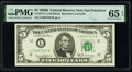 Small Size:Federal Reserve Notes, Fr. 1971-L $5 1969B Federal Reserve Note. PMG Gem Uncirculated 65 EPQ.. ...