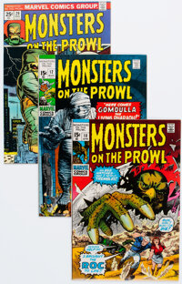 Monsters on the Prowl Group of 15 (Marvel, 1971) Condition: Average VF.... (Total: 15 Comic Books)